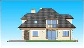 Projekt domu Agnieszka II pow.netto 221,28 m2