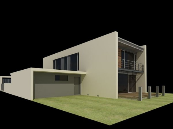 Projekt domu nowoczesnego PS-GJ-90-20 (GJ9020) pow.204,76 m2