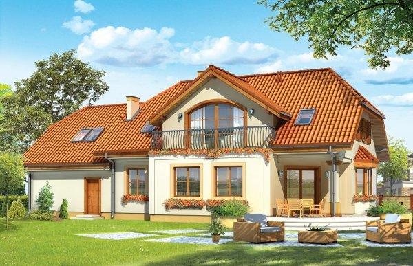Projekt domu Fokus II pow.netto 255,5 m2