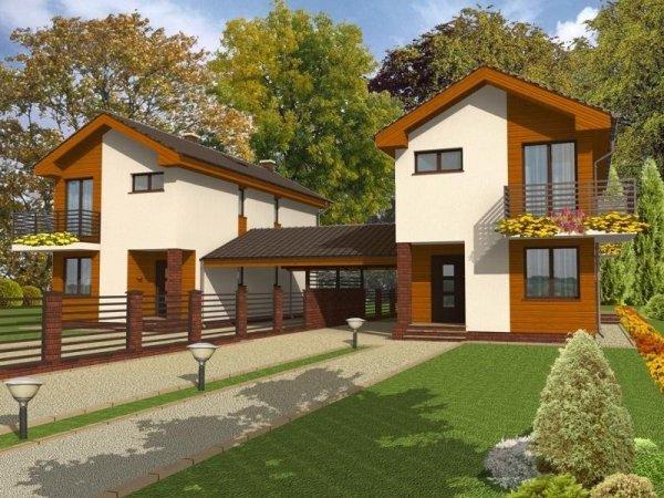 Projekt domu Hawana B-bliźniak