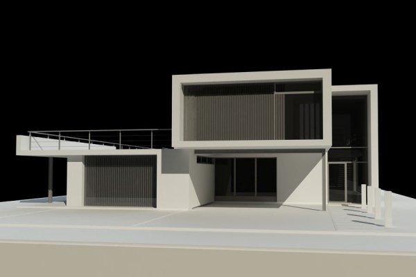 Projekt domu nowoczesnego PS-GH-230-15 pow. 397,05 m2