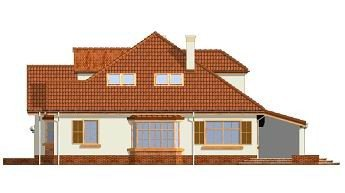 Projekt domu Zacisze III pow.netto 234,68 m2