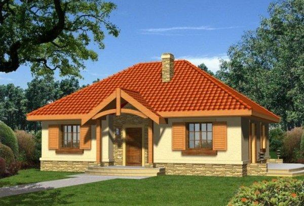 Projekt domu AGAT bez garażu