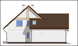 Projekt domu Zalesie pow.netto 192,38 m2