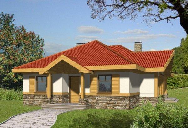 Projekt domu GRANIT bez garażu