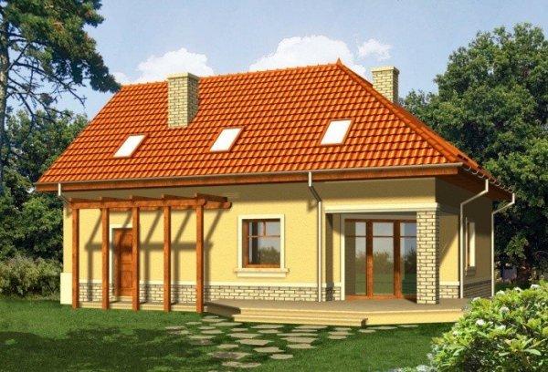 Projekt domu GUARANA