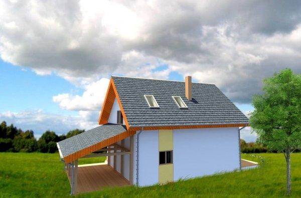 Projekt domu energooszczędnego - Dom Stanisława