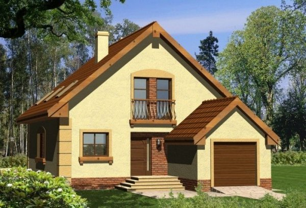 Projekt domu KRYSZTAŁ