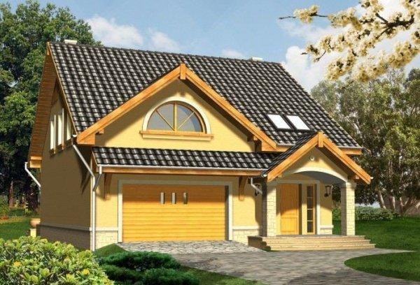 Projekt domu ORCHIDEA