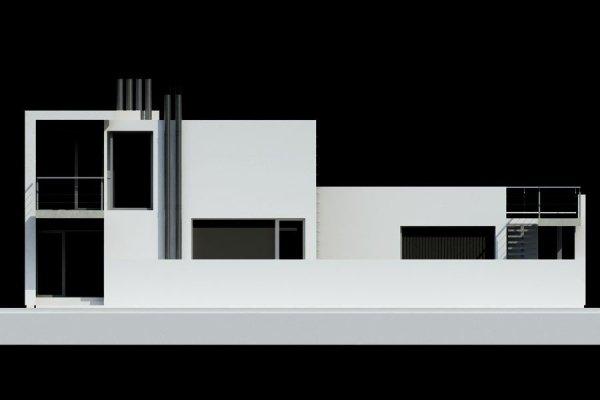 Projekt domu nowoczesnego PS-GH-170-15 pow. 293,21 m2
