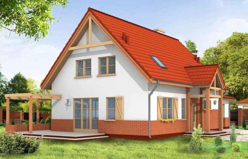 Projekt domu Leśny Zakątek pow.netto 152,59 m2