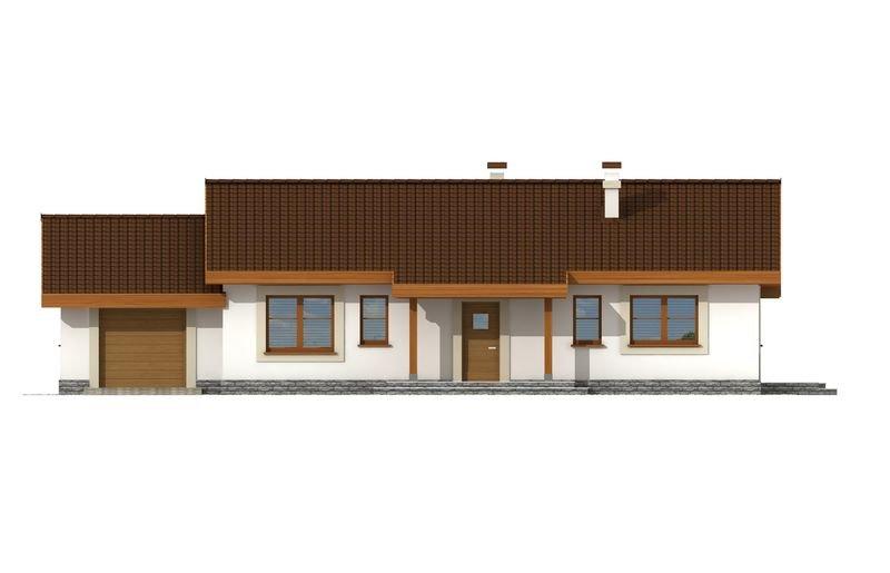 Projekt domu Anulka z garażem