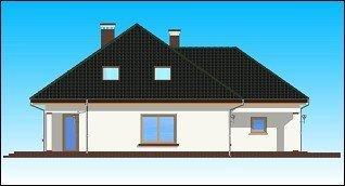 Projekt domu Natalia II pow.netto 195,24 m2
