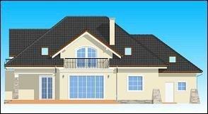 Projekt domu Benedykt III pow.netto 265,6 m2
