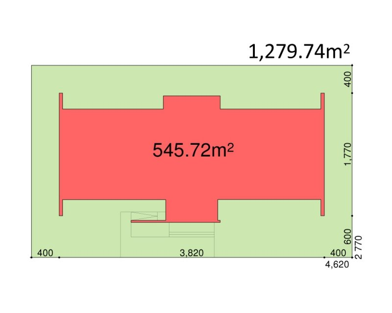 Projekt biurowca PS-BR-510-40 o pow. 1875,14 m2