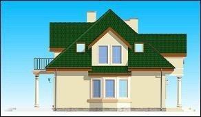 Projekt domu Saga pow.netto 185,1 m2