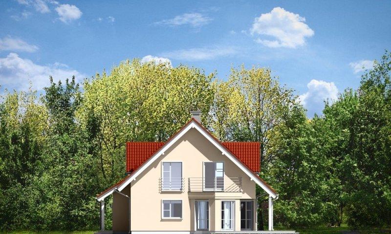 Projekt domu Orlik pow.netto 131.92 m2
