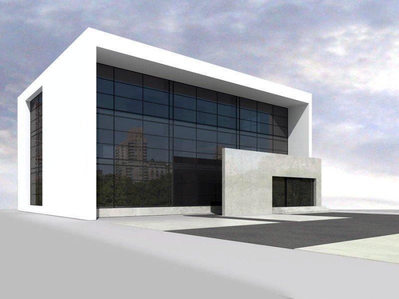 Projekt biurowca PS-BR-310-30 pow. 841,82 m2