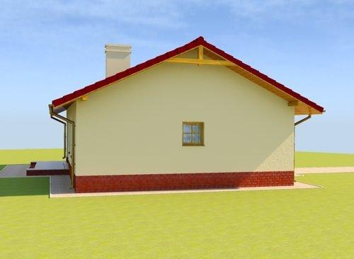 Projekt domu  Leśna Równina