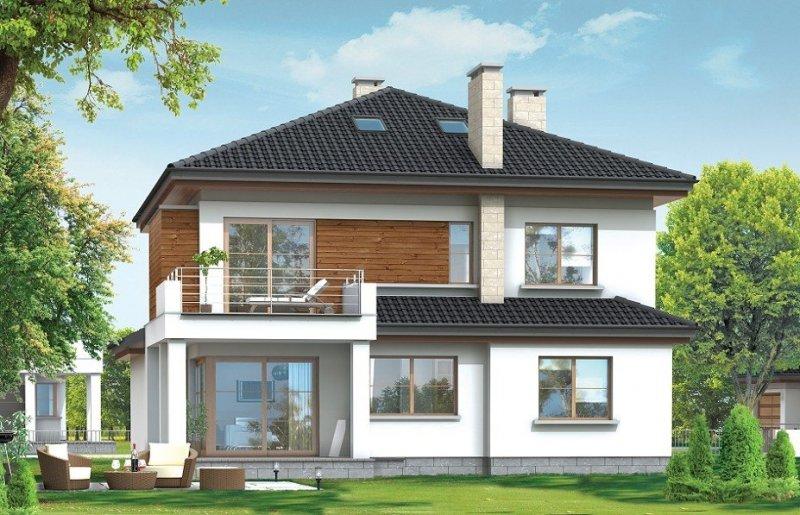 Projekt domu Vega pow.netto 208,34 m2