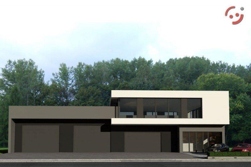 Projekt warsztatu samochodowego PS-SS-V4-L2 pow. 578,02 m2