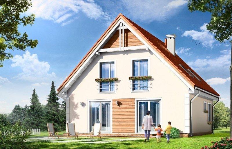 Projekt domu Małgosia pow.netto 122,6 m2
