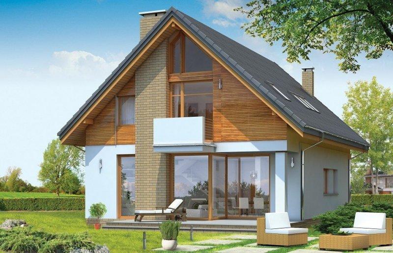 Projekt domu Prosty pow.netto 142,01 m2