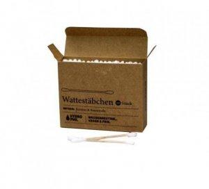 5 x HYDROPHIL Patyczki do uszu w 100% BIODEGRADOWALNE z bawełny i bambusa 100 sztuk