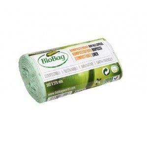 BioBag Worki na odpady organiczne 100% biodegradowalne i kompostowalne, idealne do MaxAir II, 6L, rolka 30 sztuk