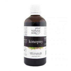 YOUR NATURAL SIDE Olej Konopny nierafinowany Organic 100ml z nakrętką