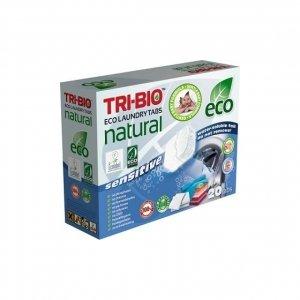 TRI-BIO Naturalne eko kapsułki do prania Sensitive 14 szt
