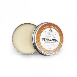 BEN&ANNA Naturalny dezodorant na bazie sody 0% aluminium w kremie w puszce VANILLA ORCHID 45g