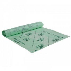 BioBag Worki na odpady organiczne i zmieszane w 100% biodegradowalne i kompostowalne 50L rolka 32 sztuki