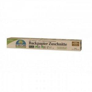 IF YOU CARE Kompostowalny Papier do pieczenia w arkuszach niewybielany FSC 24 Arkusze