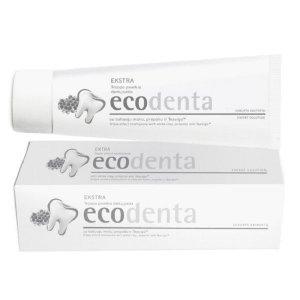 ECODENTA - PASTA DO ZĘBÓW EXTRA POTRÓJNY EFEKT z białą glinką, propolisem i TEAVIGO, 100 ml