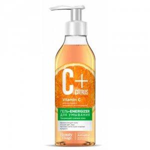 C+ Citrus Żel-energizer do mycia twarzy z kompleksem przeciw starzeniu Anti Aage 240 ml