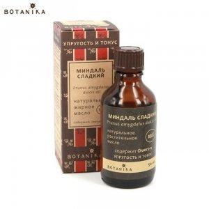 Naturalny 100% Kosmetyczny olej migdałowy, 50ml - BOTANIKA