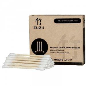 Bambusowe patyczki kosmetyczne z bawełną 100 szt.