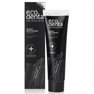 ECODENTA - PASTA DO ZĘBÓW EXTRA BLACK WYBIELAJĄCA z węglem drzewnym i TEAVIGO, 75 ml