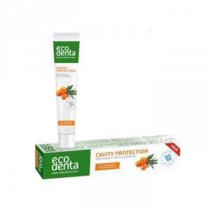 ECODENTA BASIC pasta do zębów przeciw próchnicy z olejkiem z rokitnika 75ml