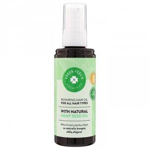 Regenerujący olejek do włosów z naturalnym olejem z nasion konopii 100ml GREEN FEEL'S