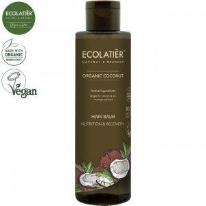COCONUT Balsam do włosów ODŻYWIANIE I ODNOWA, 250 ml ECOLATIER