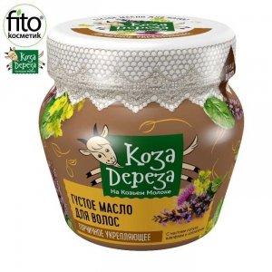 Gęsty olejek do włosów Gorczycowy 175 ml Koza Dereza - Fitokosmetik