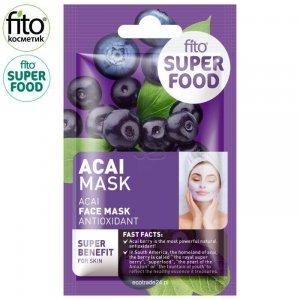FITO SUPERFOOD Antyoksydacyjna maseczka do twarzy Acai,10 ml