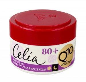 Celia Q10 Witaminy 80+ Krem tłusty przeciw zmarszczkom na dzień i noc  50ml