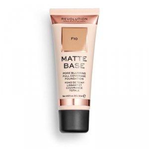 Makeup Revolution Podkład matujący do twarzy Matte Base Foundation F10  28 ml