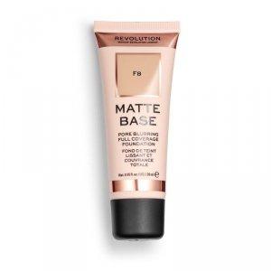 Makeup Revolution Podkład matujący do twarzy Matte Base Foundation F8  28 ml