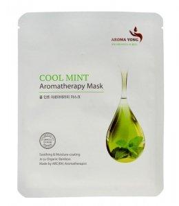 Aroma Yong Aromatherapy Mask Maska w płacie Cool Mint  27g