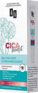 AA CICA Benefit Żel pod oczy ultra nawilżający  15ml