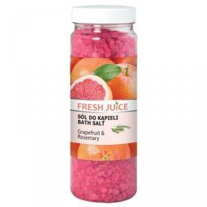 Fresh Juice Sól do kąpieli Grapefruit & Rosemary  700g